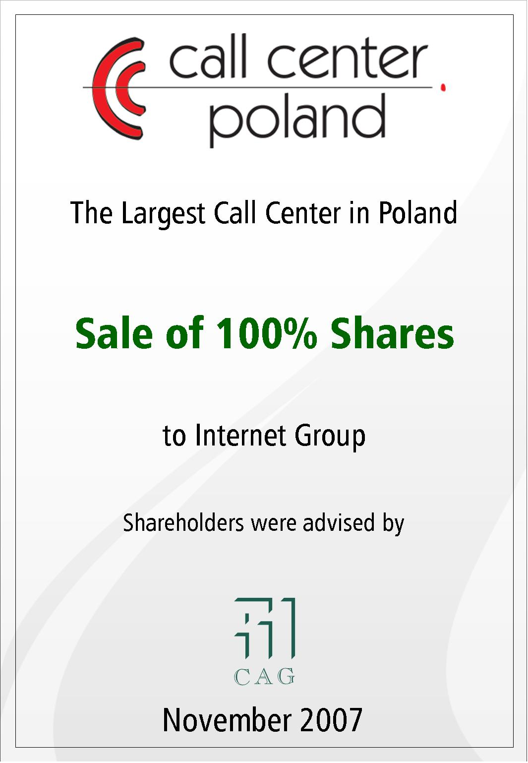 Call Center Poland