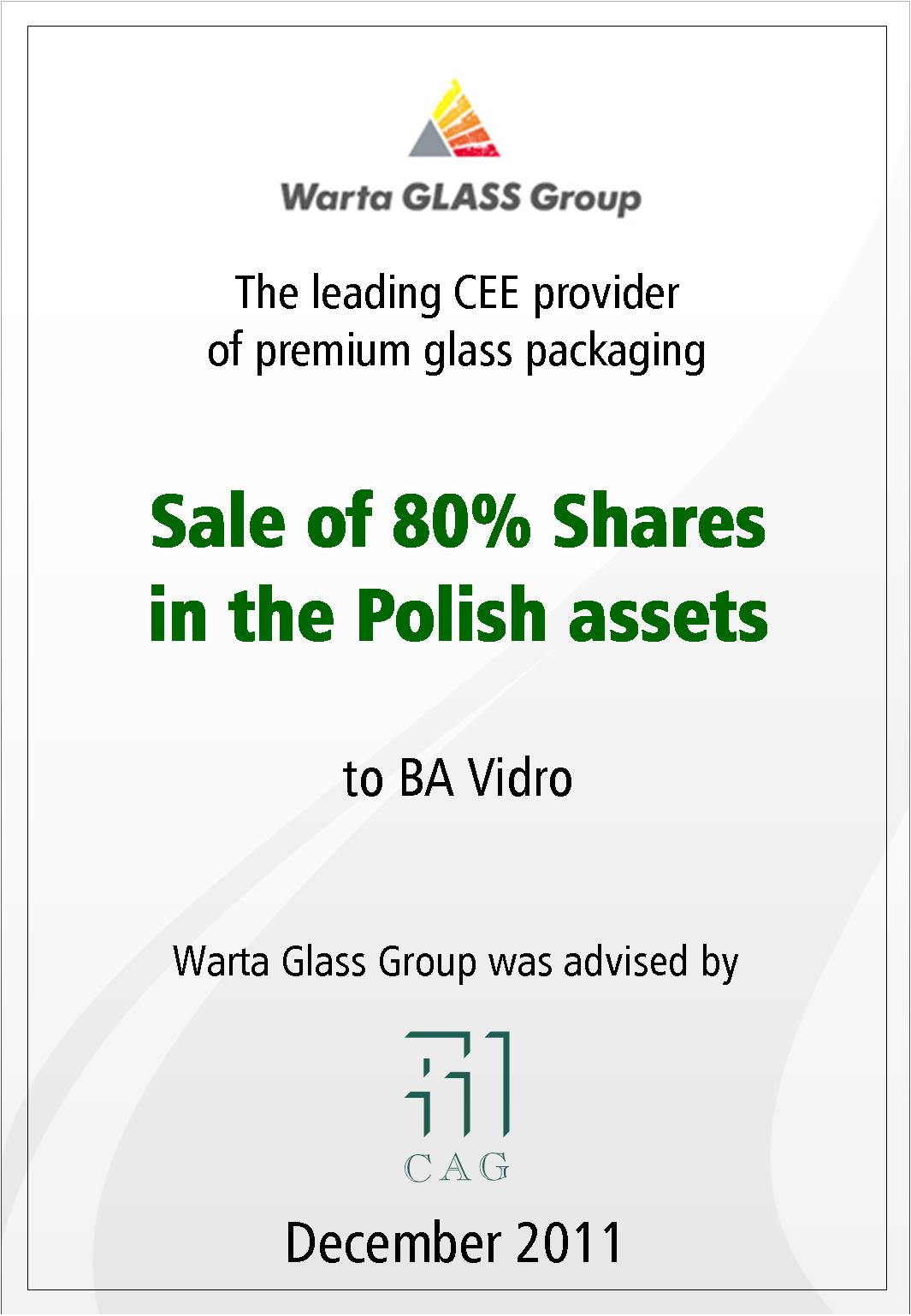 Warta GLASS Group