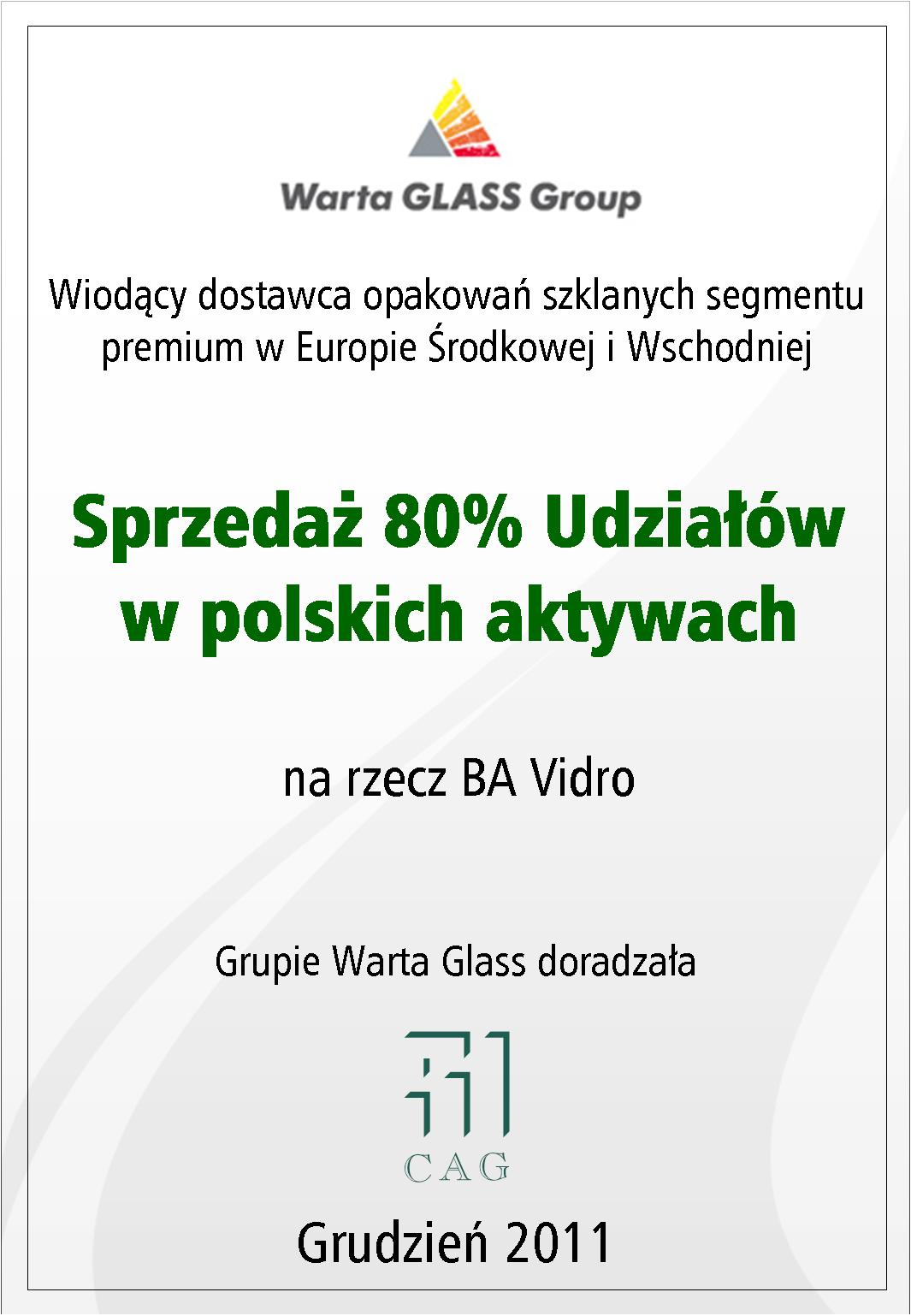 Warta GLASS