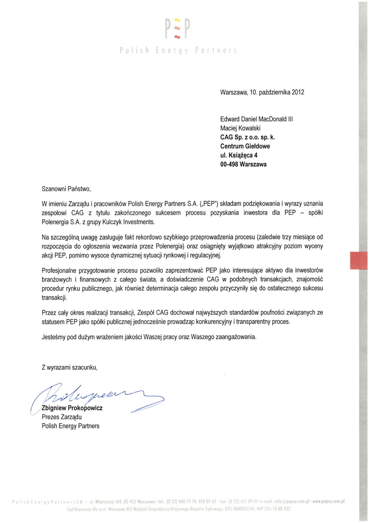 Polish Energy Partners